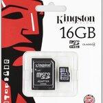 Kingston Micro Sd card 16GB (class 4 )