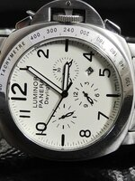 นาฬิกา Panerai Luminor รุ่น Daylight Chronograph สายเลสแท้ ระบบจริงทั้งหมด งาน Automatic สวยมากๆ