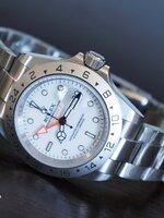 นาฬิกา ROLEX Explorer II Superlative หน้าปัดสีขาว รุ่นขายดี หายากสุดๆ ใหม่มากๆ