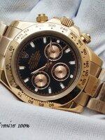 นาฬิกา Rolex Cosmograph Daytona สี Rose Gold สายเลส รุ่นดังที่สุด ดาราคาใส่