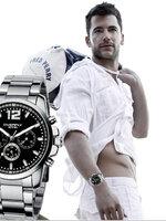 นาฬิกา Overfly eyki แท้ 100% Day Dat หน้าปัดสีดำ สายเลสแท้ รุ่นใหม่ล่าสุด