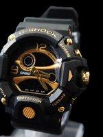 นาฬิกา G Shock AAA รุ่น Limited Edition หน้าปัดสีดำทอง 2 ระบบ ใหม่ล่าสุด พร้อมกล่อง ส่งฟรี Ems