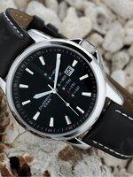 นาฬิกาแบรนด์เนม Eyki สีดำสายดำ สไตล์ Classic livestyle