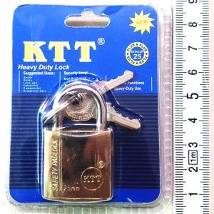 กุญแจทอง KTT ขนาด 25 mm. คอสั้น