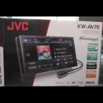 JVC KW-AV70 (เครื่องเล่นจอ 7 นิ้ว DVD/USB)