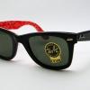 แว่นตา RayBan Wayfarer กรอบลายเรย์แบน เลนส์ดำ