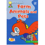 A wipe clean book Farm animals and Pets