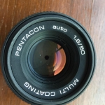 PENTACON AUTO 50MM.F1.8 MULTI COATING M42 MOUNT