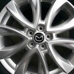 ขายล้อแม็กพร้อมยางป้ายแดง Mazda CX-5 ตัว TOP ขอบ 19 สภาพใหม่ๆ