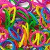 ยางซิลิโคนผสม พอนเดอริง (รวมสี) 300 เส้น / Silicone 100% Rubber loom (MIX)