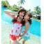 SM-V1-200 ชุดว่ายน้ำแฟชั่น คนอ้วน เด็ก ดารา thumbnail 2
