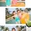 SM-V1-456 ชุดว่ายน้ำวันพีช สายคล้องคอ ด้านหน้าแต่งสายระบายเล็กๆ thumbnail 3