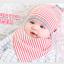 เซตหมวก+ผ้าซับน้ำลาย / ลาย Lovely Baby (มี 6 สี) thumbnail 18