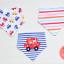ผ้าซับน้ำลายสามเหลี่ยม ผ้ากันเปื้อนเด็ก / เซตหมีขับรถยนต์ (3 ผืน/เซต) thumbnail 1