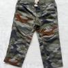 Carter's : กางเกงขายาว ลายพราง ทหาร เอวยางยืด size 3m