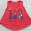 Gap kids : เสื้อกล้ามลาย เด็กหญิง สีแดงนะคะ ผ้านิ่ม เด้ง thumbnail 1