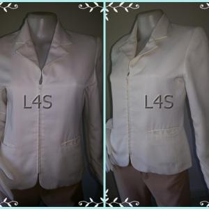 BN3850-เสื้อสูท แบรนด์เนม AIIZ สีขาว อก 34 นิ้ว