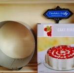 เค้กริง (Cake Ring)ปรับได้ 1-5ปอนด์ เซต6 ชิ้น(ราคาส่ง)