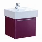 ตู้เก็บของใต้อ่างล้างหน้าแบบแขวนผนัง COTTO รุ่น V0036 สีแดง