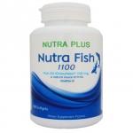 Nutra fish 1100ทเ 100เม็ด น้ำมันปลา