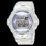 นาฬิกา Casio Baby-G STANDARD DIGITAL รุ่น BG-169R-7E (Jelly ขาวม่วง) ของแท้ รับประกัน 1 ปี