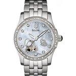 Bulova Diamond Accented Automatic 96R122 Womens Watch