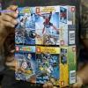 SY658 มินิฟิกเกอร์ตัวละครซุปเปอร์ฮีโร่ Marvel และ DC Comics เซ็ต 8 กล่อง