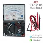 SPA มัลติมิเตอร์เข็ม วัดไฟ รุ่น SPA YX-361TR