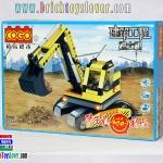 13722 Engineering Construction รถตักดินแบ็คโฮ Excavator