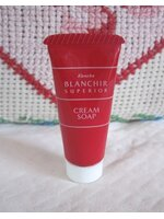 kanebo blanchir cream soap 7 g. (ขนาดทดลอง)