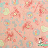 คอตตอนลินินญี่ปุ่น ลาย Bon Bon Ribbon ของแท้ จาก Sanrio สีชมพู เหมาะสำหรับงานผ้าทุกชนิด น่ารักมากค่ะ