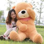 ตุ๊กตาหมีหลับ ตุ๊กตาตัวใหญ่ ขนาด 2  เมตร  สีน้ำตาลอ่อน