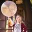 """ลูกโป่งกลมจัมโบ้ไซส์ใหญ่ 36"""" Latex Balloon RB DIMOND CLEAR 3FT สีใส/ Item No. TQ-43392 แบรนด์ Qualatex thumbnail 2"""