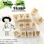Smile Flower Stamp Set