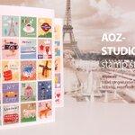 AOZ-Studio Stamp Sticker