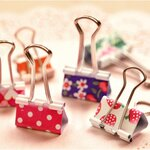 Lovely Paper Clip (Small)
