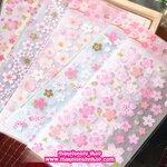 SAKURA Flower Sticker