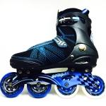 รองเท้าสเก็ต rollerblade รุ่น MSB สีดำ-น้ำเงิน Fixed Size 42 และ 44