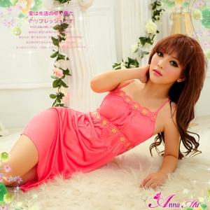 san312ชุดนอน,sexy ชดนอนน่ารัก,ชุดนอนเซ็กซี่,ชุดนอนวาบหวิว,ชุดนอนเกาหลี,สีชมพูสด
