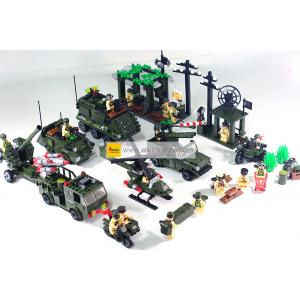 ทหาร (Soldier) E-set 7. ตัวต่อเลโก้จีน กองร้อย (ชุด 5 กล่อง)