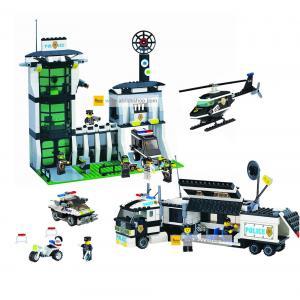 ตำรวจ (police) ENLIGHTEN-ตำรวจ-set 4 สถานีตำรวจ (ชุด 3 กล่อง) ส่งฟรี EMS