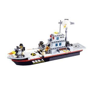 เรือรบ (Warship) JIE STR ชุดตัวต่อเรือรบ 284 ชิ้น รุ่น J29013