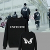 เสื้อแขนยาวกันหนาว Infinite - ฺBack