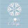 snow bright