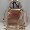 กระเป๋าLYN หนังวิ้ง (สีทองพิ้งโกล)ขนาดกว้าง9สูง6.5นิ้ว