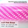 A-07 Pink Stripe