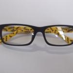 กรอบแว่นตาเกรด A พร้อมเลนส์กรองแสง รุ่น 27