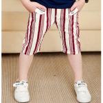 กางเกง สีแดง แพค 5 ตัว ไซส์ 100-110-120-130-140