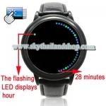 นาฬิกาแฟชั่น LED Fashion Blue Green LED Touch Screen Watch