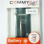 Commy แบตเตอรี่ iphone 6
